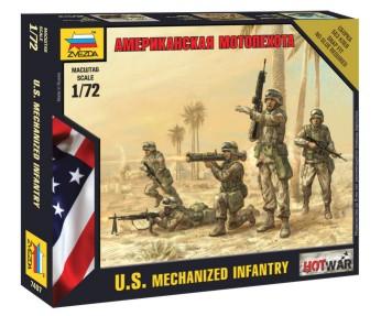 Zvezda 1/72 US Modern Infantry (5) (Snap)