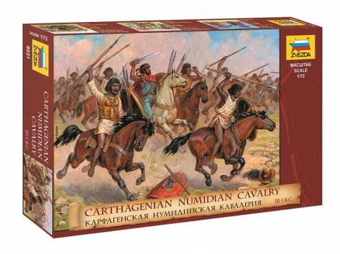 Image 0 of Zvezda 1/72 Carthaginian Numidian Cavalry (17 Mtd)