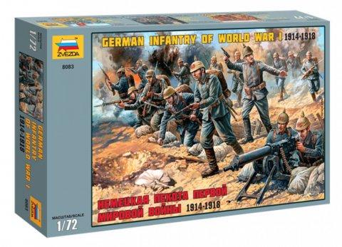 Zvezda 1/72 German Infantry 1914-18 (41)