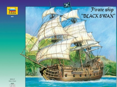 Zvezda 1/72 Black Swan Pirate Ship