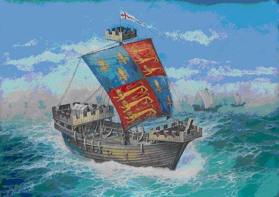 Image 0 of Zvezda 1/72 Thomas English Medieval Ship